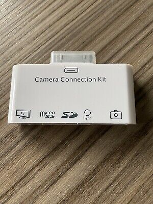 Camera Connection Kit Ipad/SDcard/USB • 5£