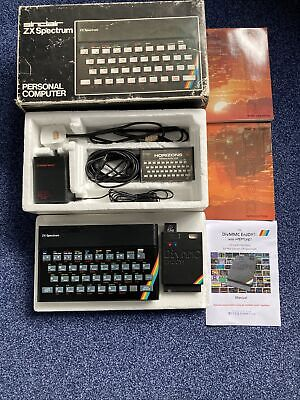 Boxed Sinclair ZX Spectrum 48K Rubber Keys Comes With DivMMC SD Card Interface. • 38.60£