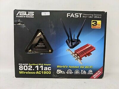 Asus PCE-AC68 Dual-Band Wireless AC1900 Adapter (OFFERS WELCOME) • 34.99£