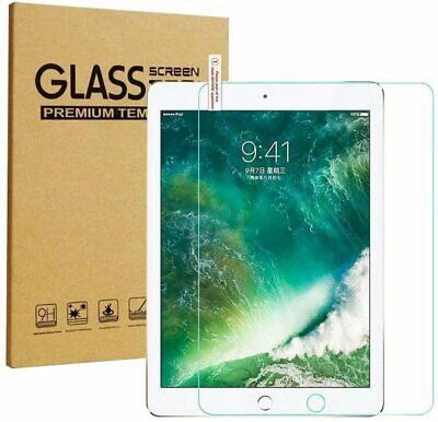 Real Tempered Glass 9H Screen Protector For Apple IPad 10.2 8th/7th Generation • 3.89£