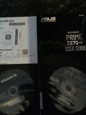 Asus And Gigabyte Motherboard Drivers,ga-a320m-s2h,z270-p. • 6£