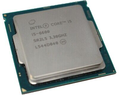 Intel Core I5-6600 @ 3.30GHz Socket LGA1151 SR2L5 CPU • 74.99£