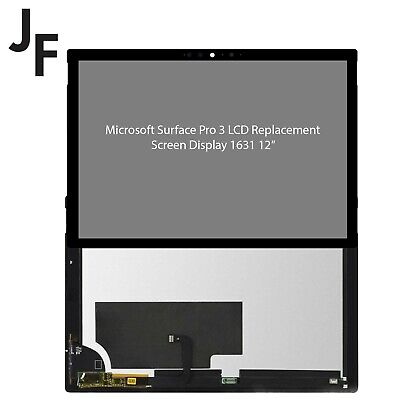 """Genuine Microsoft Surface Pro 3 LCD Replacement Screen Touch Digitizer 1631 12"""" • 144.99£"""