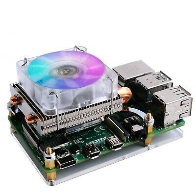 GeeekPi Raspberry Pi Low-profile CPU Cooler, Raspberry Pi Horizontal ICE Towe... • 43.20£