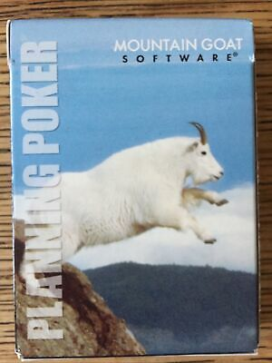 Agile Scrum Planning Estimation Poker Mountain Goat 5 Decks 20 Players New • 25£