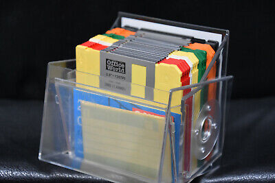 Box Of 20 New 3.5  Floppy Disks, Office World, 2HD IBM Formatted • 15£