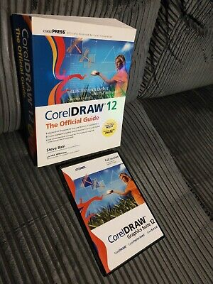CoralDRAW 12 Graphics Suite Full Version For Windows With Case & Serial + Book • 200£