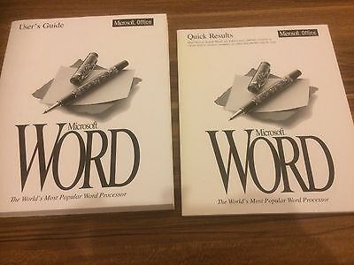 Microsoft Office Word Manuals Full Set • 20£