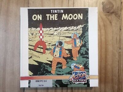 Tintin On The Moon For PC 3.5 Disk • 9.50£