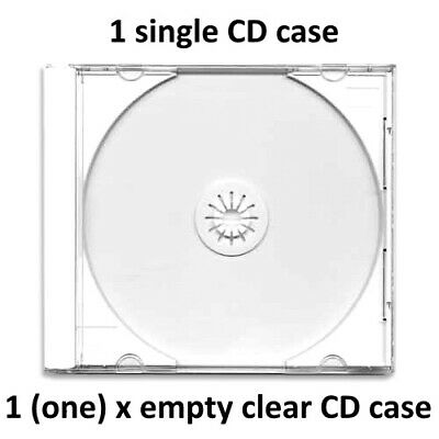 Replacement CD Case X 1 (one Case) Rgc CD Casebz • 2.99£