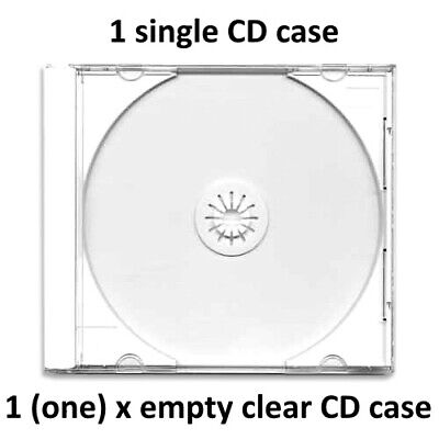 Replacement CD Case X 1 (one Case) Rgc CD Caseds • 2.99£