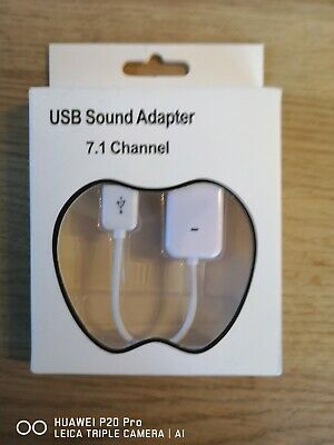 USB Sound Adapter 7.1 Channel • 1.10£