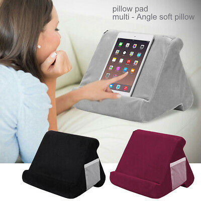 Soft Pillow Lap Stand For IPad Tablet Multi-Angle Phone Cushion Laptop Holder • 9.99£