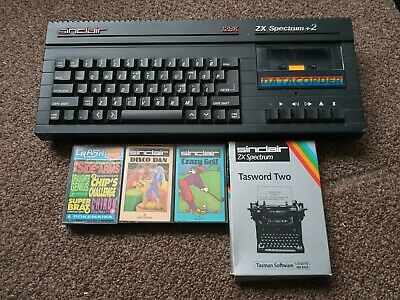Sinclair ZX Spectrum 128k +2A Computer And Games • 41£