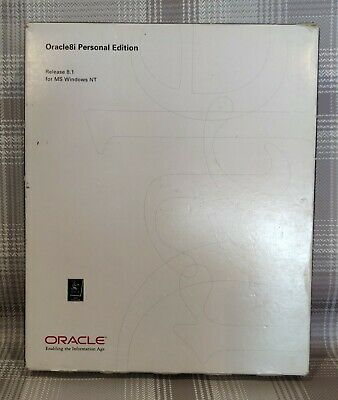 Oracle Database 8i Personal Edition • 1.99£