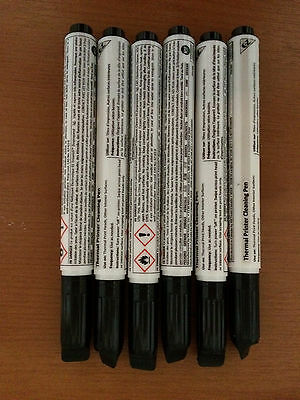 Thermal Printer Cleaning Pen (Clean Thermal Printheads) Box Of 12-New & Unused • 5£