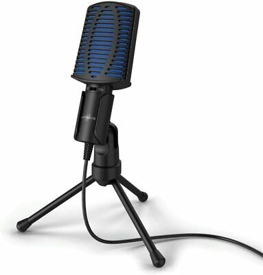 Urage Stream 100 - USB Gaming Microphone For PC - Black. • 23.95£