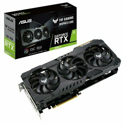 Asus GeForce RTX 3060 Ti 8GB GDDR6 TUF GAMING OC  Graphics Card - NEW & IN HAND • 979£
