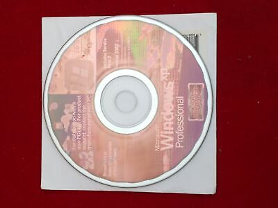 Microsoft Windows Xp Professional Version 2002 Distribution New Pc Disc • 6£