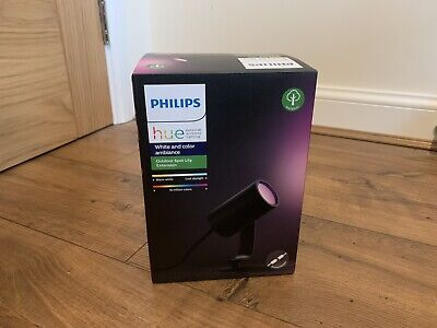 *BRAND NEW*- PHILIPS HUE LILY White & Colour Ambiance LED Outdoor Spot Extension • 62£