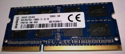8Gb (1 X 8Gb) PC3L-12800, DDR3-1600 Laptop RAM Memory - 100% TESTED! • 19.50£