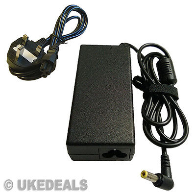 For Toshiba Satellite Pro L650 L500-19x Laptop Charger Adapter + LEAD POWER CORD • 8.85£