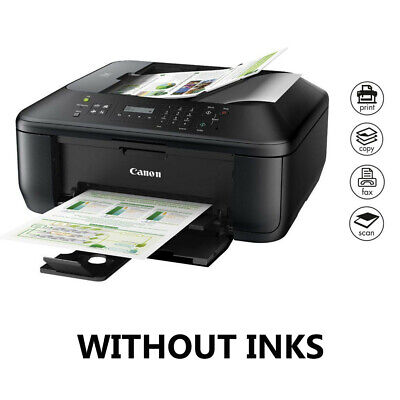 Canon PIXMA MX395 All In One Color Printer Copy Fax Scan Print Complete Function • 63.99£