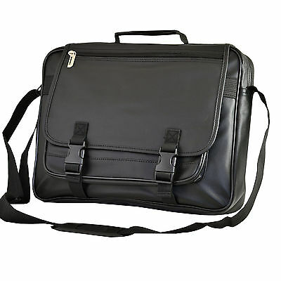 Faux Leather Computer Laptop Case Bag For MacBook Air Or Pro 12 13 14 Inch • 12.99£