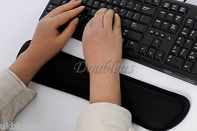 Wrist Raised Hands Rest Support Comfort Pad Cushion For PC Keyboard Comfort • 6.99£
