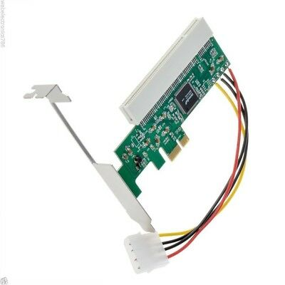 PCI Express To PCI Adapter Card Asmedia 1083 Chipset 32bit AC385 • 12.99£