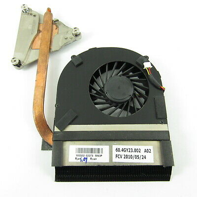 Packard Bell Easynote Nm85 Nm87 Laptop Heatsink + Fan Uma 60.ptf01.001 • 12£