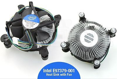 Original Intel I3 I5 I7 Socket 1150 1151 1155 Heatsink Fan Cooler E97379-001  • 9.95£