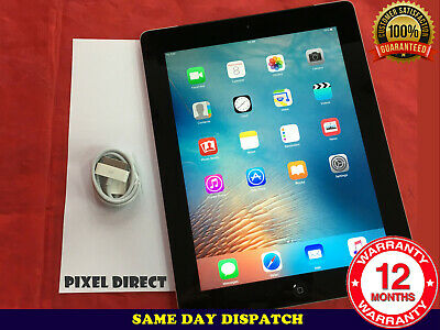 PERFECT CONDITION Apple IPad 2 16GB, Wi-Fi 9.7in Black Support Upto IOS 9 Ref 35 • 59.99£