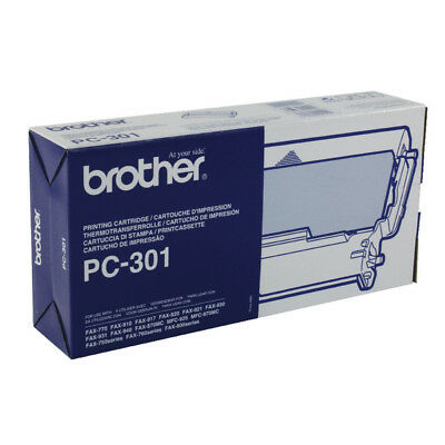 Brother Thermal Transfer Ribbon Cartridge And Refill PC301 • 25.48£