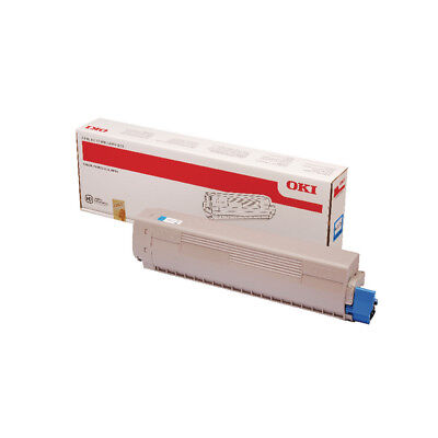Oki MC873 Cyan Toner 10000 Pages 45862816 • 185.13£