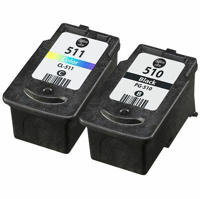 Canon PG-510 & CL-511 Ink Cartridge Value Pack For Canon PIXMA Printers • 21.95£