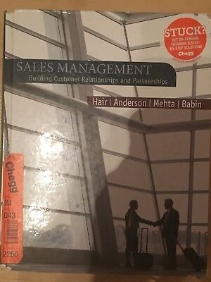 Sales Management: Building Customer Relationships And Partnerships By Prof... • 30£