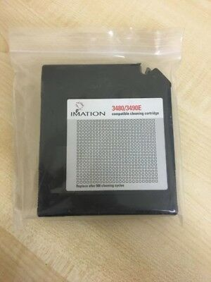 Imation 3480/3490e Compatible Cleaning Cartridge - New Open Box • 35£