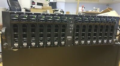 Dell PowerVault 220S Storage Array Fully Populated With 14 X 300GB HDDs - PALLET • 265£