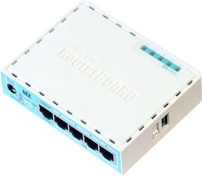 MIKROTIK HEX RB750Gr3 5-Port Gigabit Router, 256Mb RAM, 880Mhz CPU, MicroSD, USB • 52.54£