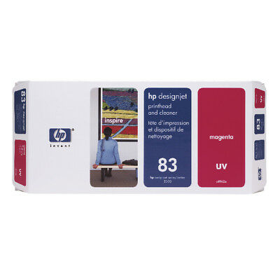 HP 83 Magenta UV Printhead And Cleaner C4962A • 252.51£