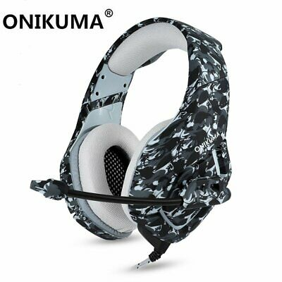 3.5mm K17 Gaming Headset MIC LED Headphones For PC Laptop PS4 Pro Xbox One S 360 • 17.95£