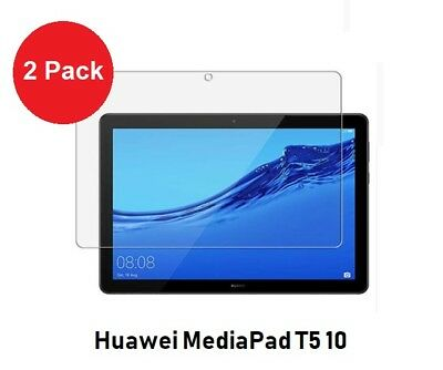 2 X Flim Screen Protector For Huawei MediaPad T5 10 Tablet Device Only • 2.95£