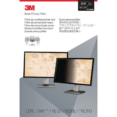 3M Privacy Filter For Widescreen Desktop LCD Monitor 23.8in PF238W9B • 137.48£