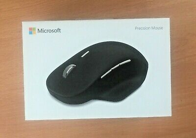 BRAND NEW SEALED Microsoft GHV-00002 Surface Precision Mouse - Black Model 1818 • 37.99£