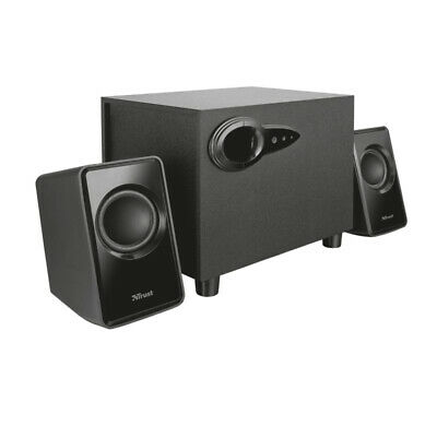 Trust Avora USB Powered 18W 2.1 Speaker Set With Subwoofer For PC And Laptop • 17.99£