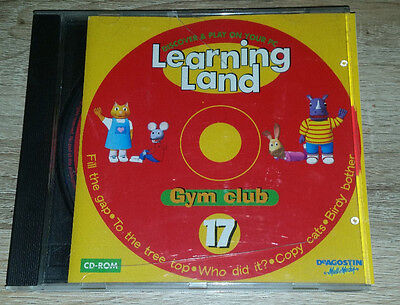 Learning Land-discover & Play On Your Pc-cd-rom 17# *gym Club* • 2.98£