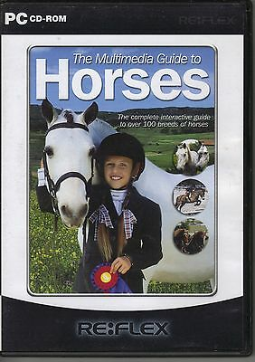The Multimedia Guide  To Horses  Pc Cd Rom  • 0.99£