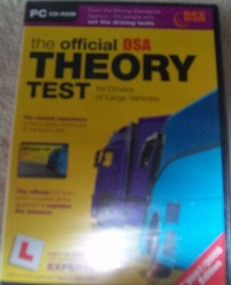 The Official Dsa Theory Test For Large Vehicles   New  • 1.50£