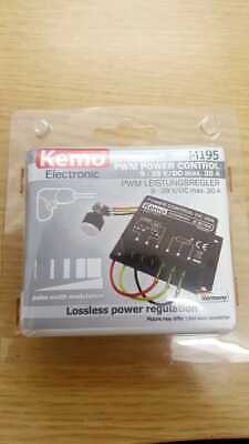 Kemo M195 PWR Power Controller 20A Operating Voltage 9 - 28V DC • 49.99£